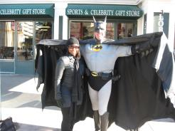 It's Batman and Catwoman